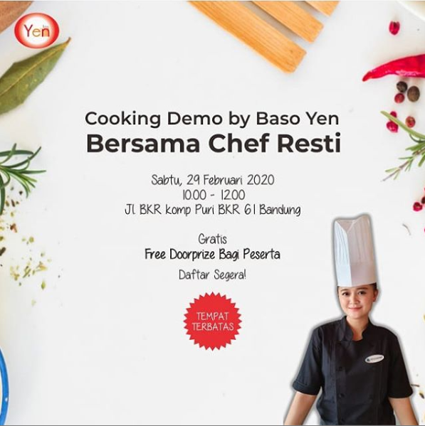 cooking demo by baso yen