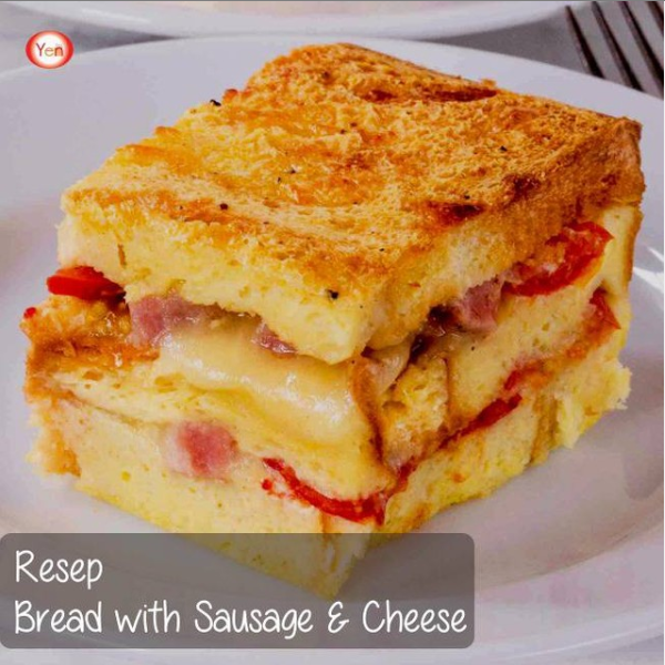 Resep Bread Sausage dan Cheese