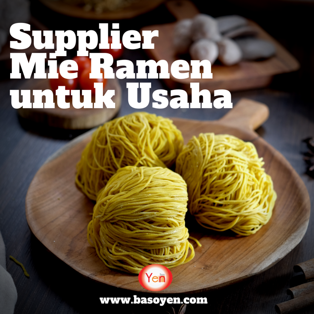 supplier mie ramen